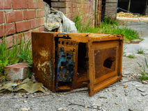 Rusted Microwave Stock Images