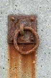 Rusted mooring ring Royalty Free Stock Image