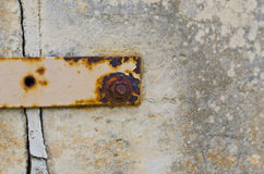 Rusted nut and Bolt Royalty Free Stock Photo