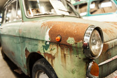 Rusted old car Royalty Free Stock Photo