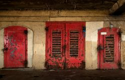 Rusted old doors Royalty Free Stock Images