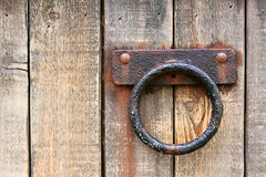 Rusted Old Metal Handle Stock Image