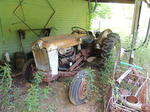 Rusted old tractor Royalty Free Stock Images