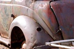 Rusted Out Slugbug-1. Rusted Out Slugbug - VW Automobile Royalty Free Stock Image