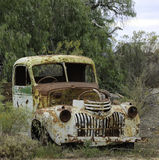 Rusted out truck-Broken Hill Royalty Free Stock Photos