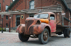 Rusted Out Truck Stock Photography