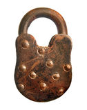 Rusted Padlock Royalty Free Stock Photography