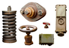 Rusted parts Stock Images