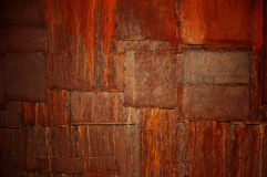 Rusted patches of metal royalty free stock photography