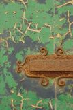 Rusted and Peeling Door Royalty Free Stock Photography