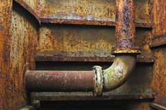 Rusted Pipe Royalty Free Stock Image