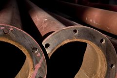 Rusted Pipes Royalty Free Stock Image