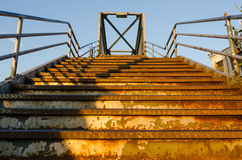 Rusted Queens Stariway Royalty Free Stock Images