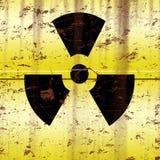 Rusted Radioactive Barrel Stock Photos