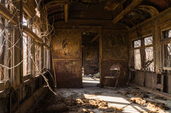 Free Rusted Rail Car Interior. Stock Photo - 85740750