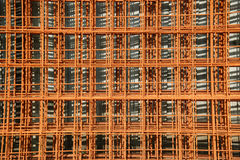 Rusted Reinforcing Material Stock Image