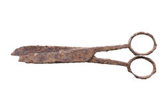 Rusted scissors Royalty Free Stock Photo