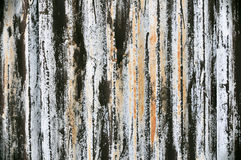Rusted Sheet Metal Background Royalty Free Stock Photography