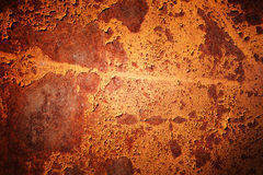 Rusted sheet of metal Royalty Free Stock Photo