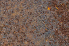 Rusted sheet metal background texture.Brown Royalty Free Stock Images