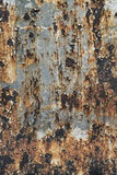 Rusted Sheet Metal Texture royalty free stock images