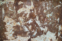 Rusted sheet metal texture Stock Images
