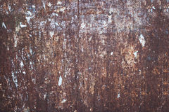 Rusted sheet metal texture Royalty Free Stock Photo