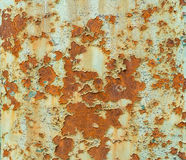 Rusted sheet texture Royalty Free Stock Image