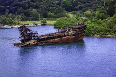 Rusted Ship Royalty Free Stock Photography