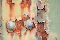 Rusted stålsätter Arkivbilder