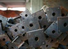 Rusted stålsätter Arkivfoton