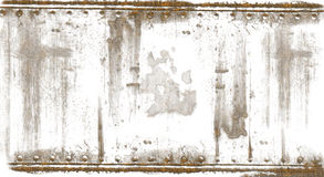 Rusted Steel Backdrop Stock Photo