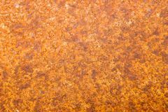 Rusted Steel Background. Rusted plate of steel for use as a background royalty free stock image