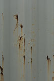 Rusted steel. Background of rusted steel sheet Royalty Free Stock Images