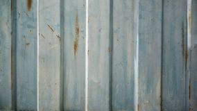 Metal door. Rusted steel door royalty free stock photos
