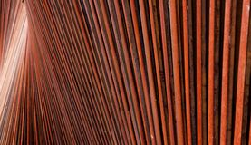 Rusted Steel Patterns Royalty Free Stock Photography