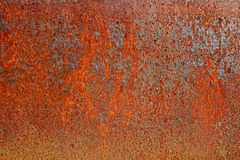 Rusted Steel Plate Royalty Free Stock Photos