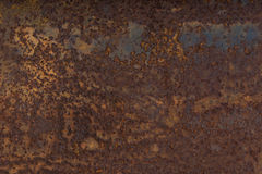 Rusted steel plate Stock Photography