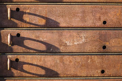 Rusted steel Stock Image