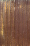 Rusted steel sheet Stock Photography