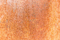 Rusted steel sheet. Close-up of the rusted steel texture Royalty Free Stock Photo