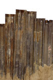 Rusted steel wall Stock Photo
