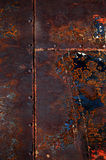 Rusted Steel Welded Together Royalty Free Stock Photos