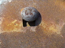 Rusted surface Royalty Free Stock Photos
