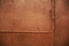 Rusted textures. Textures on a rusty metal Royalty Free Stock Photography