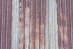 Rusted Tin Roof. Stock Photography