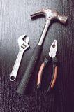 Rusted tools Stock Images