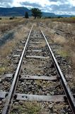Rusted Tracks. Old Train Tracks stock image