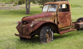 Rusted Truck Royalty Free Stock Photos