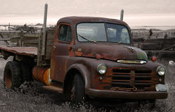 Rusted truck. Truck rusting away Stock Photography